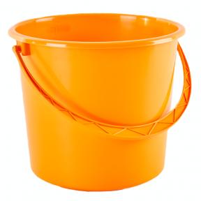 Ведро пластмассовое 18л оранжевое