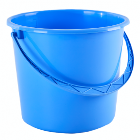 Ведро пластмассовое 18л голубое