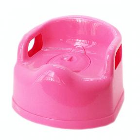 Горшок детский пластмассовый Люкс розовый