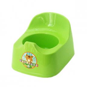 Горшок детский пластмассовый  Малятко  оливковый
