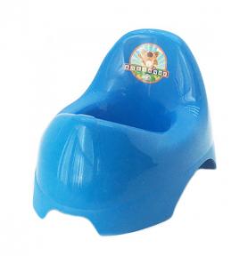 Горшок детский пластмассовый  Бамбино  синий