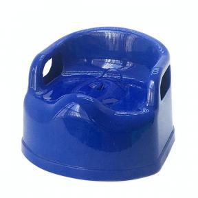 Горшок детский пластмассовый Люкс синий