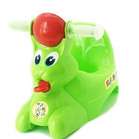 Горшок детский пластмассовый  Вags Bunny  оливковый