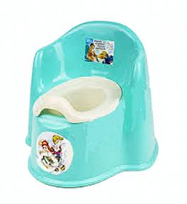 Горшок детский пластмассовый Кресло бирюза