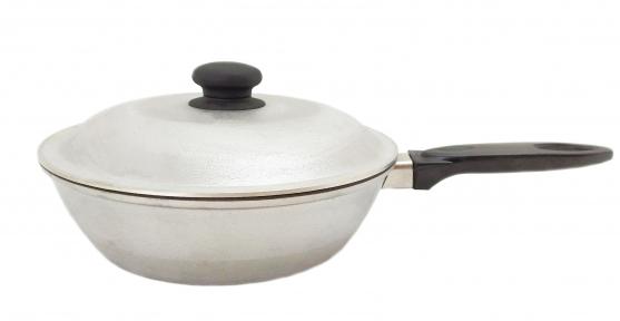 Сковорода алюминиевая литая 200 мм углубленная Д