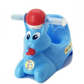Горшок детский пластмассовый  Вags Bunny  голубой