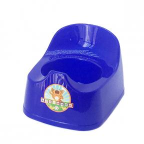 Горшок детский пластмассовый  Малятко  синий