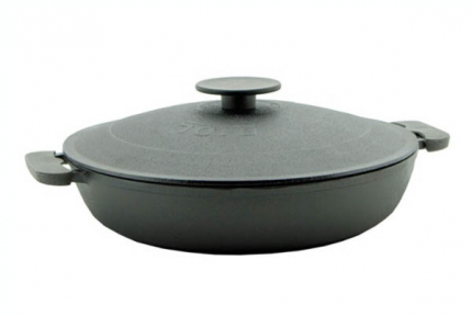 Сковорода-жаровня чугунная 500мм 1750К