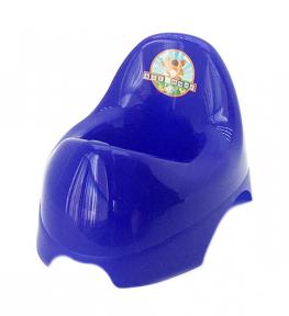 Горшок детский пластмассовый  Бамбино  фиолетовый