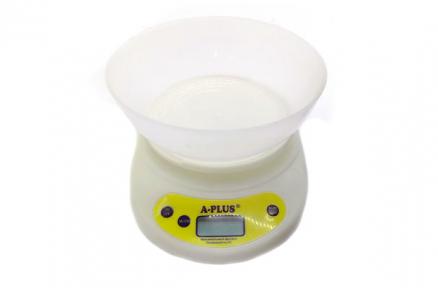 Весы кухонные электронные с чашей 5.0кг 1656
