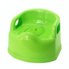 Горшок детский пластмассовый Люкс оливковый