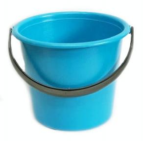 Ведро пластмассовое 5.0л цветное