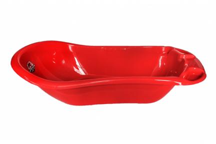 Ванна детская пластмассовая красная