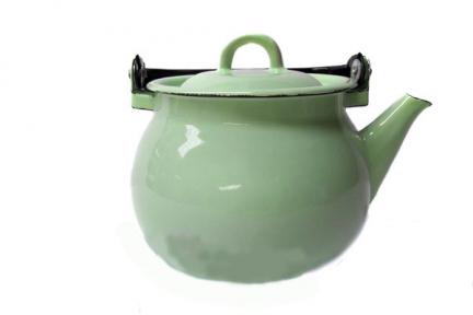 Чайник эмалированный 2.5л 27101/4 Мятная прохлада
