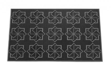 Коврик резиновый 58х36.5см Звезды К-16